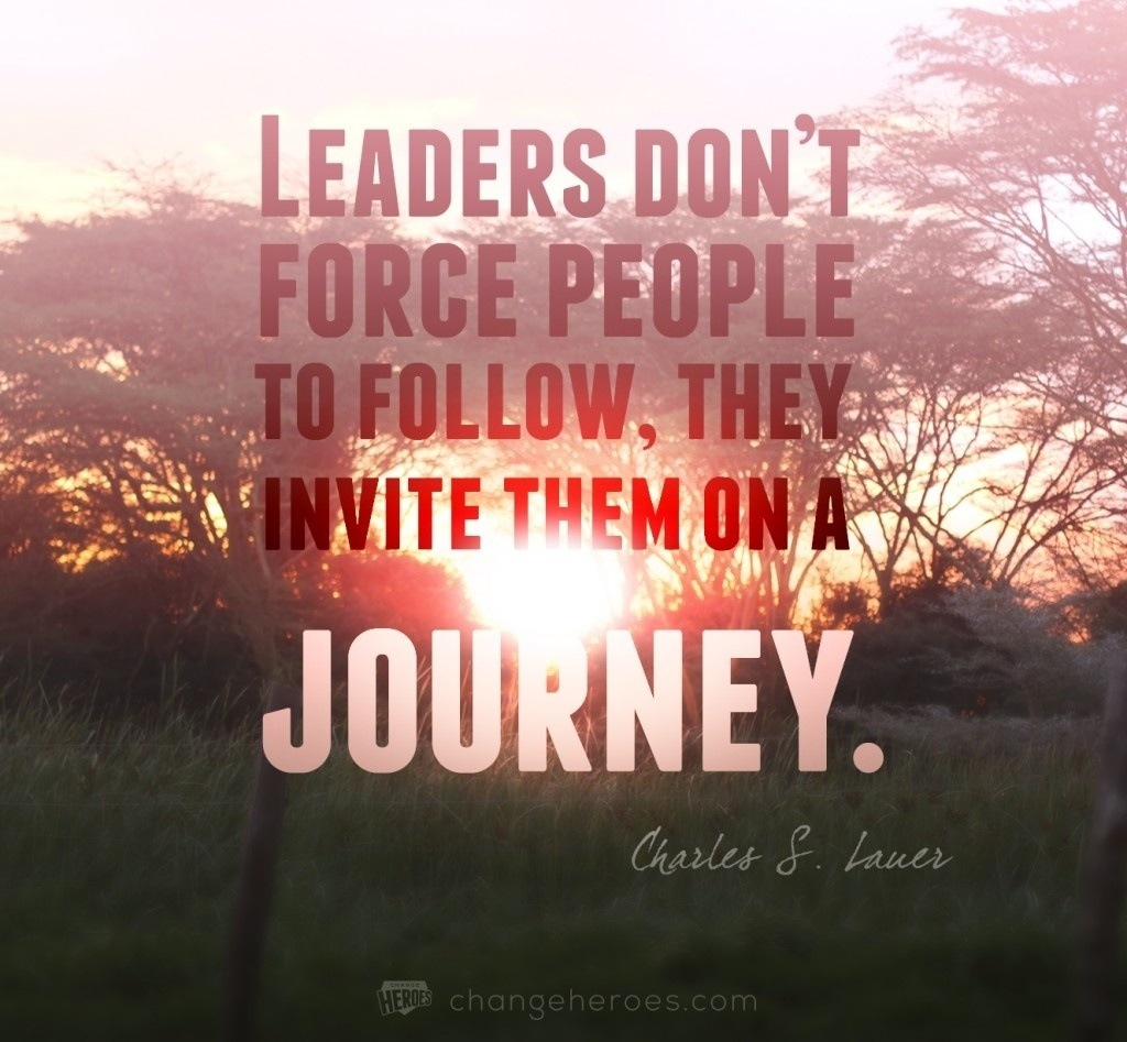 inspiring leadership quotes seeking ansars
